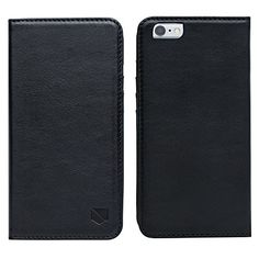 Silent Pocket Black Anti Radiation and RFID Blocking iPhone 6 Plus Fold Over Wallet *** You can get more details by clicking on the image.