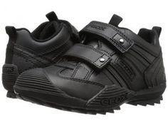 Geox Kids Jr Savage 10 (Little Kid) (Black) Boys Shoes