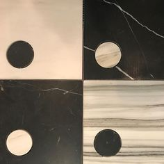 Whats black and white with spots all over?  #modern #design #interiordesign #kellywearstler