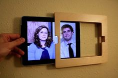 Wall mount for the tablet in the Camper instead of a tv. haha. fun idea. could work!