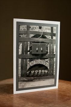 Black and White Fine Art Greeting Card by AudreyKerchnerstudio, $5.00