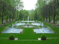 """Longwood Gardens, Kennett Square, Pennsylvania See our video """"Fountains Of Longwood"""" at themagicgarden.com"""
