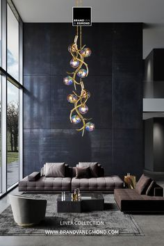 Create spaces that evoke calm and comfort, while bringing the personality of your clients.   Visit our website at brandvanegmond.com or get in touch with our sales team through info@brandvanegmond.com. Modern Hanging Lights, Hanging Ceiling Lights, Modern Chandelier, Modern Lighting, Lighting Ideas, Custom Lighting, Lighting Design, Home Modern, Living Room Modern