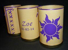MiniMandy: Centro de Mesa de Rapunzel para Zoe.