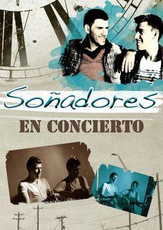Cartel para concierto del grupo SOÑADORES