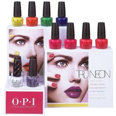 #OPI Tru #Neon #Nail #Collection Summer 2016 - #PerfettoME
