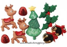 Dress It Up Holiday Embellishments Reindeer Games. The perfect embellishments for your scrapbook layouts, holiday cards, sewing projects and more! Add loads of fun and adorable shapes to all your paper and fabric crafts. Christmas Crafts, Christmas Decorations, Christmas Ornaments, Holiday Decor, Sewing Projects, Craft Projects, Reindeer Games, Scrapbook Pages, Fabric Crafts