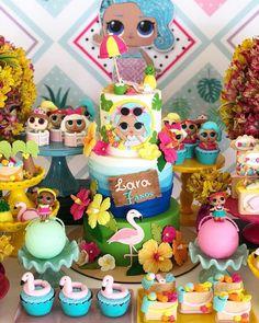 Que tal LOL na versão Pool Party? By @cintiasantosfestas Bolo e doces lindos @cakebiju . . . #festalol #poolparty #lolparty #lolentrenafesta #bolosentrenafesta #bololol #entrenafesta