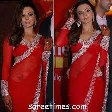 Red Saree, Sari Blouse, Fiery Red, Rakhi, Indian Sarees, Indian Wear, Indian Fashion, Desi, Blouses