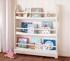 organize books on stand