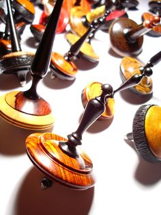 Made in Italy: Unique, Handcrafted Wooden Spintops