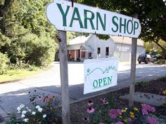 Our yarn mill has many antique machines and new technologies together in what used to be an old gas station! Right off exit 4 of I-91 in Putney, VT - come visit!