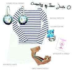 Casual chic in Acapulco with @Swarovski Moonshine ring and Hyacinth earrings