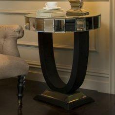 Quartz Lamp Table