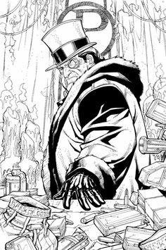 Penguin Comic Art - Characters & Art - Batman: Arkham City