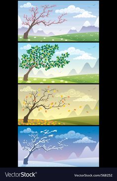 Season landscapes vector image on VectorStock Superhero Background, City Background, Free Vector Images, Vector Free, Angel Vector, Cloud Vector, City Vector, Christmas Tree With Gifts, Silhouette Vector