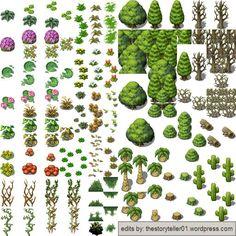 Картинки по запросу pixel art trees