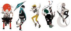 Cyberpunk, Kitsune Mask, Sans Art, Boy Illustration, Cool Anime Guys, Drawing Reference Poses, Drawing Base, Manga Characters, Boy Art