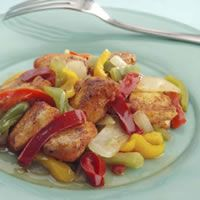 Stir-Fried Spicy Chicken Tenders
