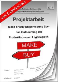 technischer betriebswirt tbw projektarbeit prsentation ihk make or buy 11 - Projektarbeit Betriebswirt Ihk Muster