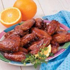 Marmalade Soy Wings Allrecipes.com