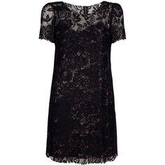 DOLCE & GABBANA lace dress ❤ liked on Polyvore