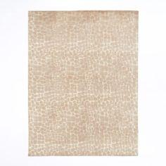 Python Printed Wool Rug | west elm