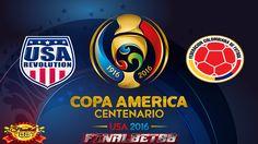 Prediksi Amerika Serikat vs Kolombia 26 Juni 2016