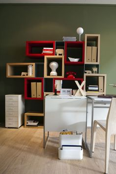 Librerie, tavoli, divani: w i moduli!
