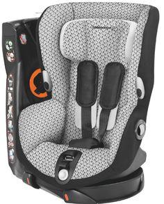 Axiss - Graphic Crystal - O que torna este produto único?  - 8 posições confortáveis, da sentada à semi-deitada - Cresce com o seu filho; arnês e apoio de cabeça ajustáveis  - O assento gira 90º para a esquerda e para a direita para que possa instalar a criança
