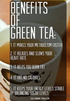 Add Green Tea to your daily routine.