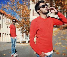 Quay Eyewear Paradise, Zara Orange Sweatshirt, Cheap Monday Washed Skinny Jeans, Nike Air Max 90 Infrared, Fossil