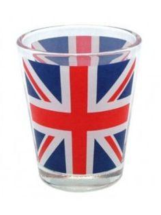 Union Jack Shot Glass