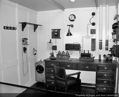 Titanic's radio room, whence frantic signals for help were sent that night.