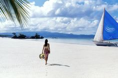 Boracay's critically acclaimed white sand beaches.. one of the top 10 beaches in the world..