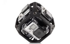GoPro is working on a spherical camera rig for VR, and a drone