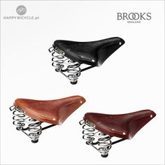 B67 is the most comfortable model from Brooks England | Happy Bicycle Store