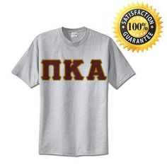 Pi Kappa Alpha Standards T-Shirt - $14.99 Gildan 5000 - TWILL