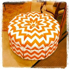 Afternoon pick me up! Orange #chevron. #hpmkt Suites@MS, M-8029