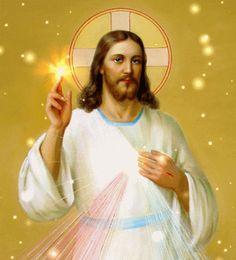 Reflexión sobre la vida con imagen de Jesús GIF luminosa