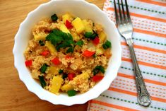 We have had absolutely beautiful weather in Cork the last few days, which inspired me to whip up a dish with a tropical feel. And this delicious pineapple fried couscous definitely hits the spot. I can almost feel the sand in my toes and ocean breeze on my face when eating this meal. So why not get a head start on summer creating this tropical recipe this weekend and get to smelling summer in your house today. Couscous is made with semolina flour, the same flour that pasta is made with (so…