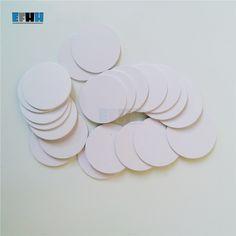 125 KHZ TK4100/Diámetro 20mm Moneda RFID EM4100 Tarjeta de Tarjeta de Control de Acceso de Sólo Lectura de Tarjetas de IDENTIFICACIÓN