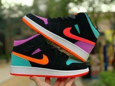 Cute Nike Shoes, Nike Air Shoes, Jordan Shoes Girls, Girls Shoes, Nike Air Jordan, Jordan 1, Jordan Retro 1, Air Jordans Women, Girl Jordans