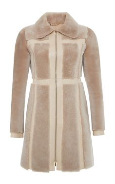 Lamb Shearling Coat by Blumarine for Preorder on Moda Operandi