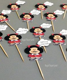 Cupcake toppers consist of coordinating graphics, happy birthday, bridal shower, name, age and/or any message you want to add. They can also be made to be used for any wonderful celebration.