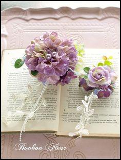 Bonbon Fleur ~ Jours heureux コサージュ&和装髪飾りの画像 エキサイトブログ (blog)