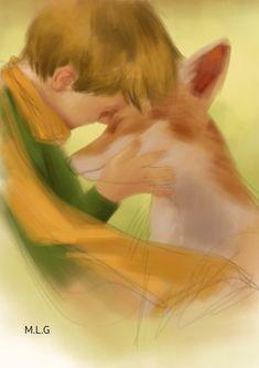 The Little Prince, Pencil Art Drawings, Portrait Art, Watercolor Flowers, Aesthetic Wallpapers, Tatoos, Animation, Fine Art, Illustration