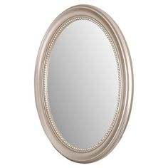 Sleek And Sophisticated This Rust Proof Medicine Cabinet Showcases An Oval Wall Mirror Inspired Silhouette Adjule Gl Shelving