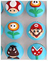 Birthday Cupcakes Sydney, Wedding Cupcakes, Baby Shower Cupcakes, Christening Cupcakes, designed by EliteCakeDesigns Super Mario Cupcakes, Beautiful Cupcakes, Cake Designs, Party Games, Birthdays, Gaming, Sweets, Anniversaries, Videogames