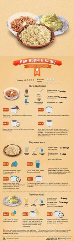 Как варить кашу
